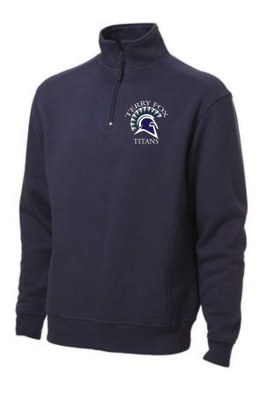 Terry Fox Elementary Quarter Zip Sweatshirt